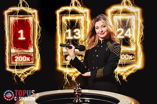 lightning roulette odds