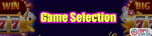online casino game selection