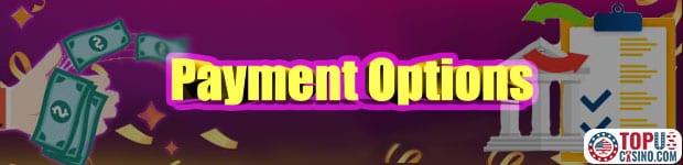 payment option casino